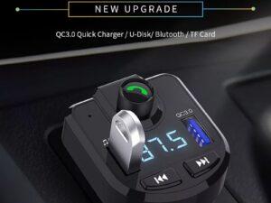 ТРАНСМИТЕР ЗА КОЛА CAR BLUETOOTH MP3 CHARGER BT36
